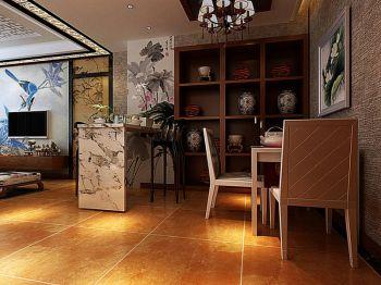 中式风格家庭两居装修效果图案例
