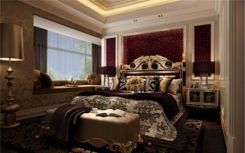 保利拉菲三居室欧式风格效果图图