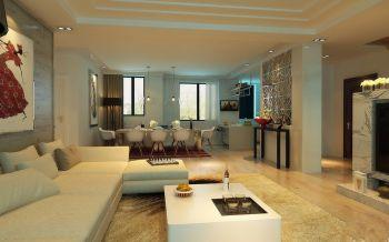 瑞城国际现代简约阁楼式家居装修图片