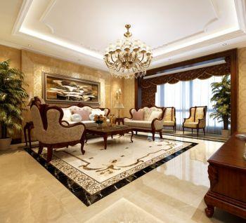 现代欧式豪华大户型家装效果图
