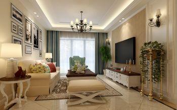 长安天玺公寓式住宅简美混风装修效果图