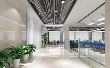 办公室室内装修设计效果图