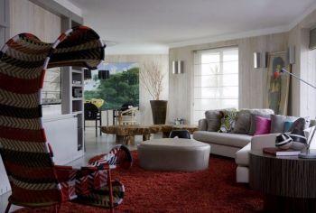 简约二居室家装案例图片