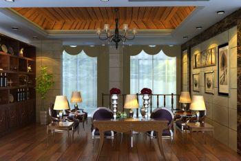 风尚米兰现代欧式别墅装修效果图