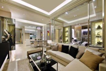 144平现代风格舒适三房装修图片