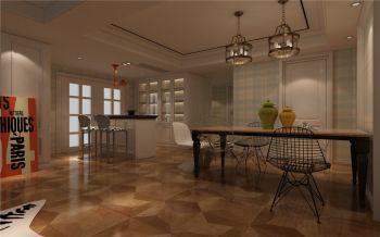 简美风格两居室装修效果图