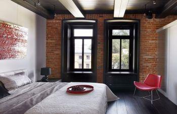 后现代简约风两居室装修图片