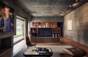 简约后现代风格平层小别墅装修图片
