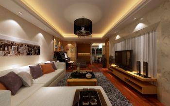 三室两厅现代简约风装修效果图