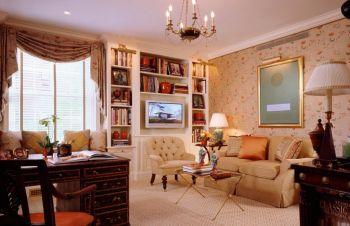 混搭三居室风格装修图片