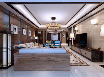 四室两厅两卫中式风格装修效果图