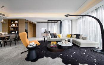 2021后现代120平米装修效果图片 2021后现代二居室装修设计