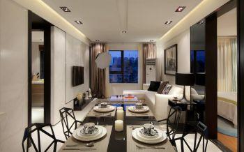 2021现代简约100平米图片 2021现代简约二居室装修设计