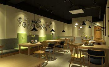 禄存星茶餐厅室内装修效果图