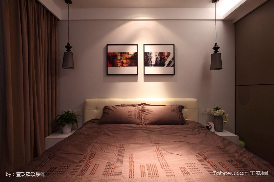 卧室灰色榻榻米混搭风格装潢设计图片