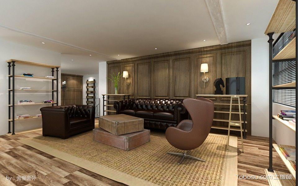 恒生科技园会客厅装修设计