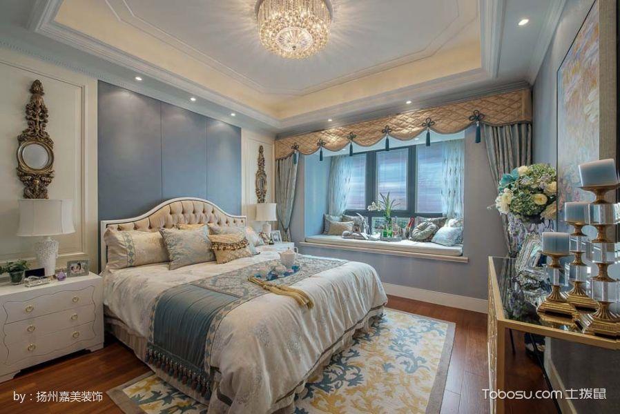卧室飘窗法式风格装修效果图