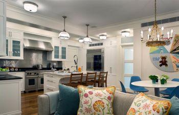 美式简单风格两居室设计图片