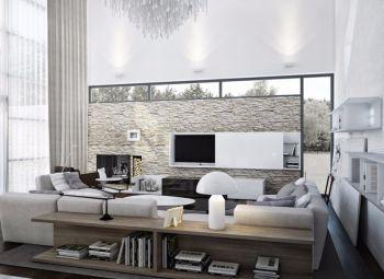 现代简约风格别墅风设计图片