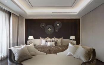 龙湖滟澜海岸现代欧式风格四居室装修案例图