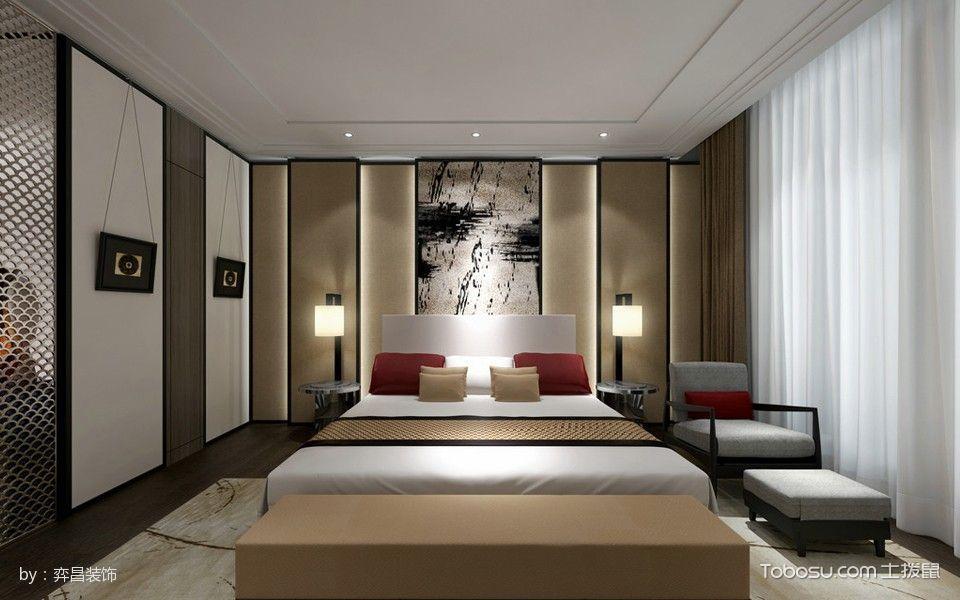 卧室白色窗帘韩式风格装修效果图