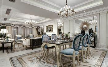 法式奢华时尚别墅装修效果图