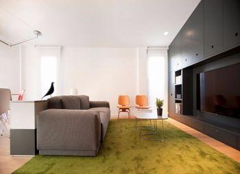 弘轩公寓现代简约装修图片