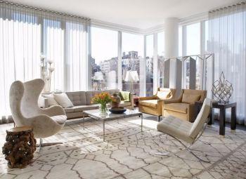 纯雅公寓温馨现代简约风格装修图片
