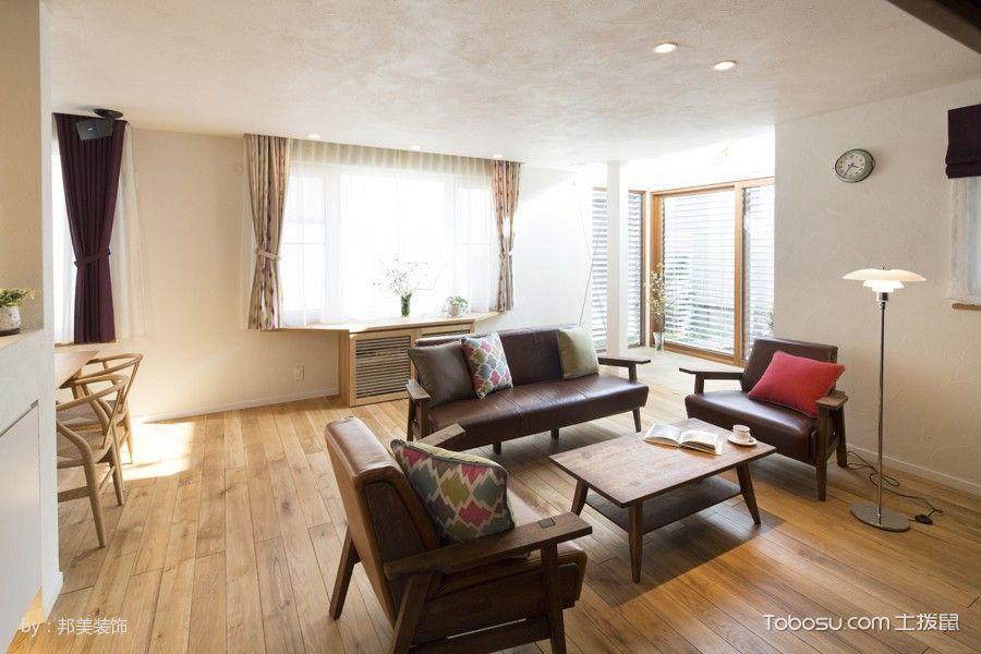 客厅_十二橡树庄园现代韩式别墅装修图片