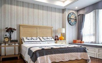 美式清新现代二居室装修效果图