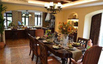 拉菲庄园洋房古典美式风复式装修图片