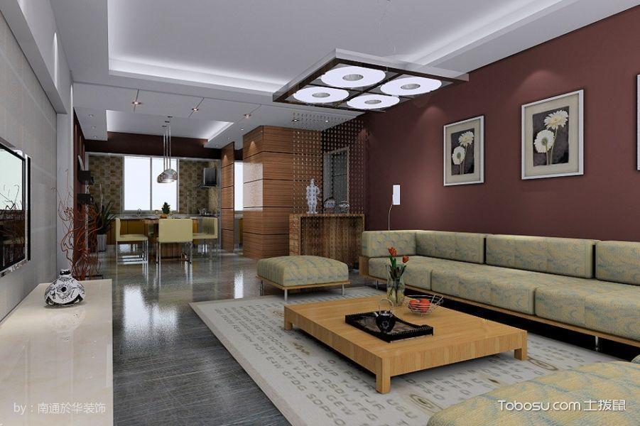 海尔世纪公馆三居室现代简约效果图