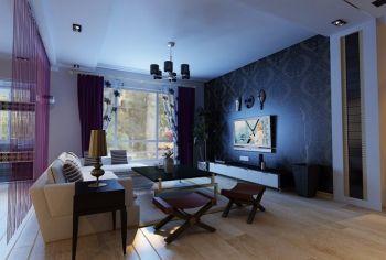 2020现代简约100平米图片 2020现代简约二居室装修设计