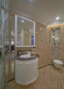 欧式现代风格四居室装修效果图