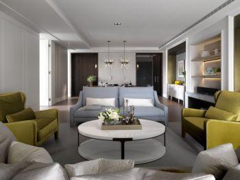 城市印象现代简美风格三居室装修图案例