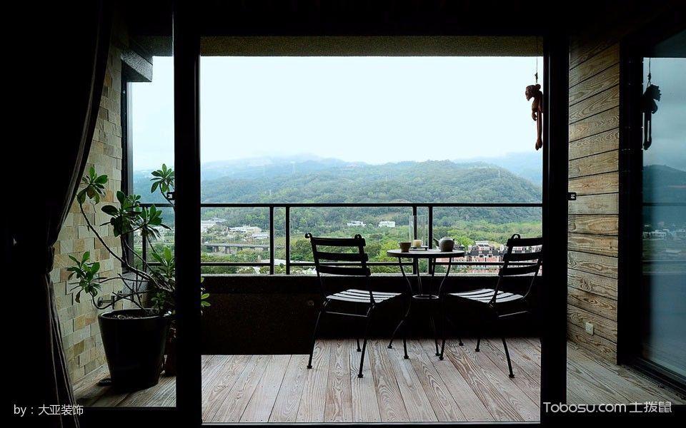 農村自建現代風半山小復式裝修圖片
