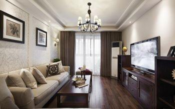 温馨简单美式三居室装修效果图