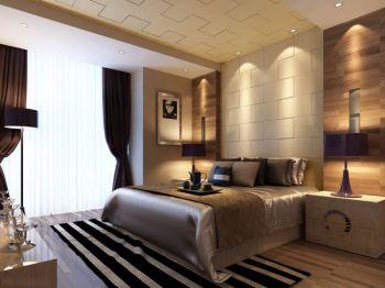 卧室田园风格装潢图片