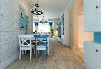 餐厅走廊地中海风格装修设计图片
