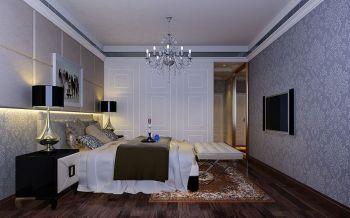 现代欧式风格两居室家庭装修设计效果图