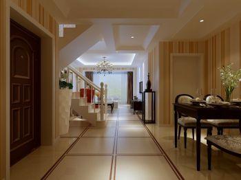 餐厅走廊现代欧式风格装修设计图片