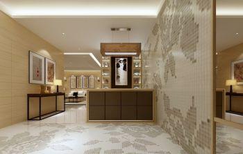 中式简约风格楼房家居装修效果图