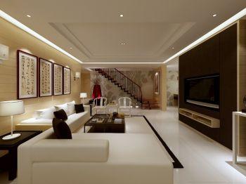 客厅吊顶简中风格装饰设计图片