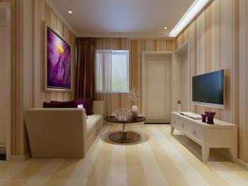 60平现代简约小户型家居装修设计效果图