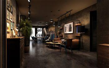 【10万】印象山loft后现代风格室内装修效果图