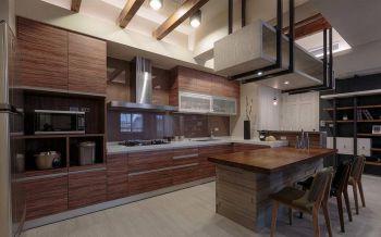 自建美式混搭三居室装修效果图