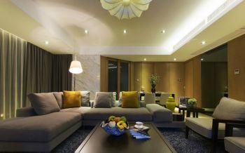 现代风情二居室装修图片