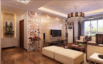 现代混搭风格舒适两房装修图片
