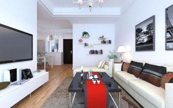 世纪城龙昌苑现代简约一居室装修图片