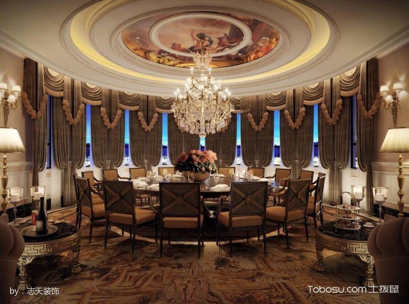 卡提庄园欧式风格奢华别墅装修效果图